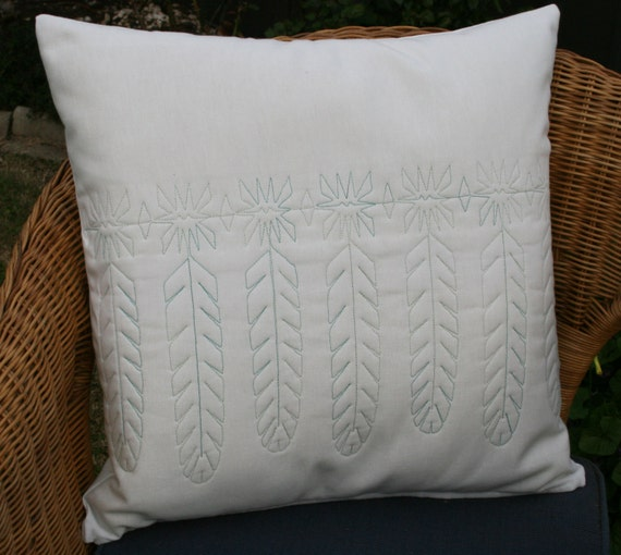 Decorative Quilted Pillow Covers : Decorative quilted throw pillow cover by morethanjustquilts