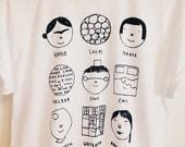 MEDIUM - Lady Artists t shirt