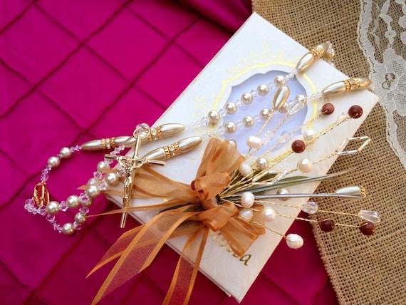 Biblia Y Matrimonio : Bible and rosary set de biblia y rosario para boda