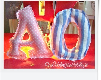 ABC ITH 3-D Letters for 4x4  and 5x8 hoop