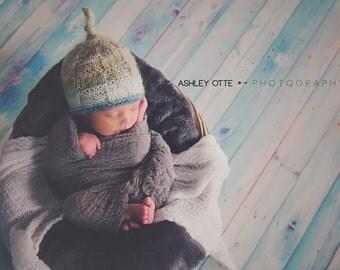 Baby  Photo Prop Hat , Newborn Boy Beanie Hat , Photo Prop Beanie Hat for Boy