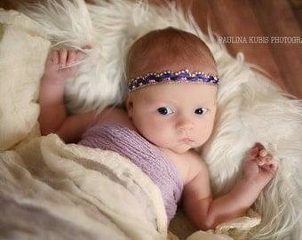 Baby Photo Prop Halo Band,Newborn Baby Girl Headband ;  Headband for girl baby newborn