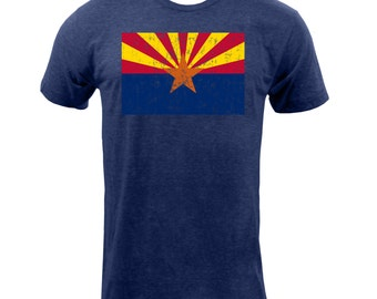 Arizona State Flag - Tri Indigo