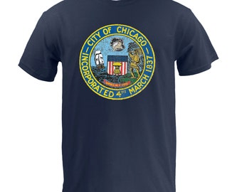 City of Chicago Seal - Navy