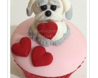 Puppy Love Cupcake PDF Tutorial