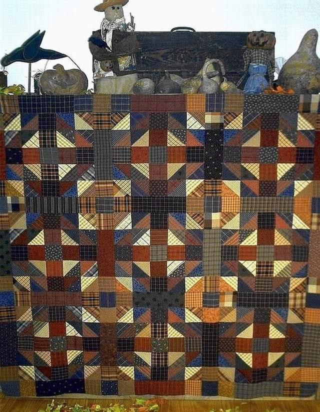Primitive Folk Art Quilt Pattern Best Of All : Primitive Folk Art Quilt Pattern Jeepers by FiddlestixDesign