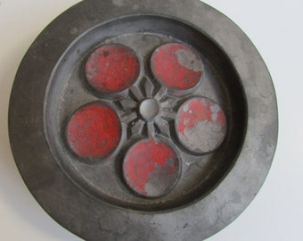 Mid Century Modern Pottery Wall Hanging Earthenware.