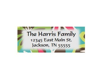 Daisy Craze Return Address Labels