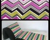 Chevron Nap Mat, Pillow Bed, Girl Pillow Bed, Children's Pillow Bed, Pillow Mattress, Sleepover Bed
