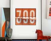 700. Illustration art giclée print signed by the artist. A2 poster.