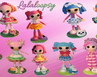Muñecas de colección LALALOOPSY - Fofucha muñeca 100% hecho a mano en espuma