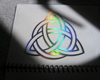 Eternity Cosmic Celtic Symbol holographic FX