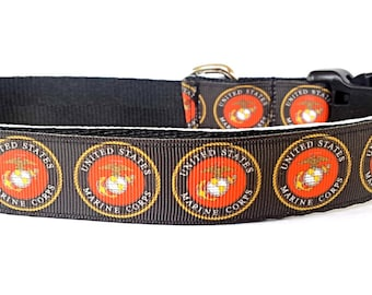 United States Marine Corps Dog Collar