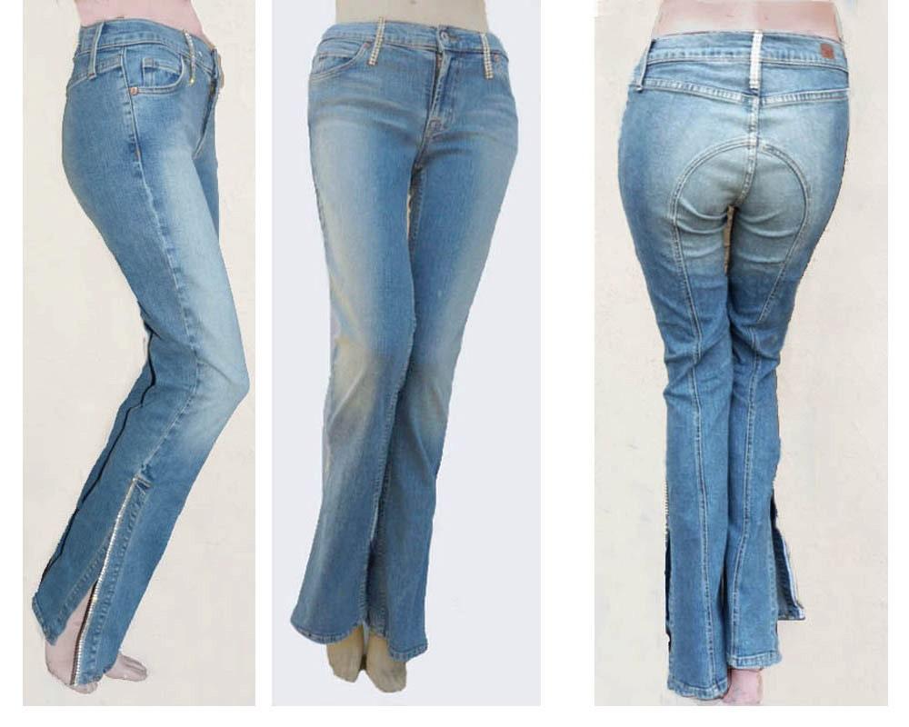 Bling Flare Jeans Bling Jeans Allen b Rhinestone