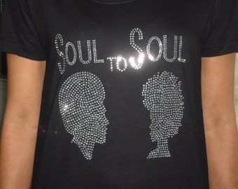 Afrocentric Tee  Shirt Soul To Soul