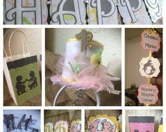 Nursery Rhyme Party Package for 8