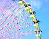Colorful Ferris Wheel - Fine Art Photograph