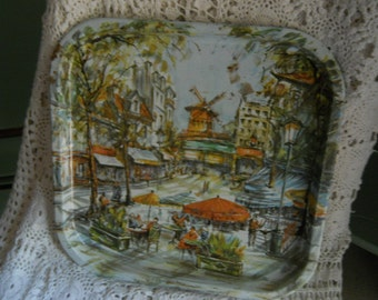 Daher decorated ware 1970 tray