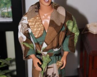 Barbie/Ken Flannel Bathrobe