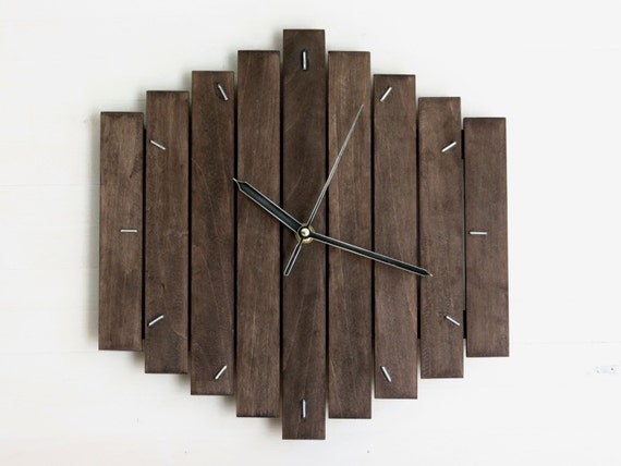 Romb Ii Contemporary Wall Clock Silent Modern Style By Paladim
