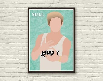 NIALL HORAN from One Direction Minimalistic Poster | Musician series