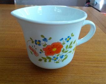 Vintage Corelle Wildflowers Cream Pitcher