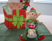 Christmas Snowball Elf,Christmas Package Elf, Elf Decor, Christmas Decor, Elf