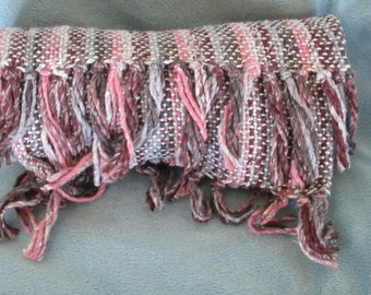 Neapolitan - Hand woven cotton and bamboo scarf