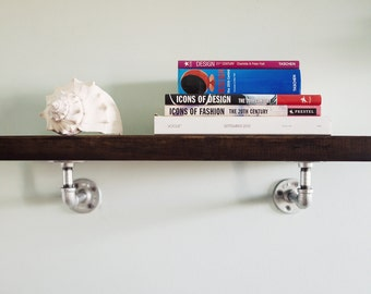 Industrial Piping/Wood Shelf