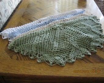 Alexandra Crocheted doily - handmade -