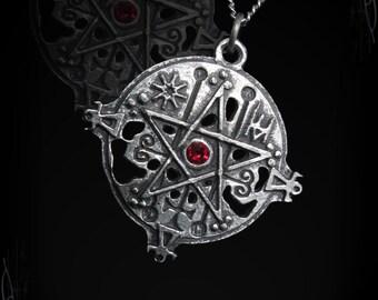 Seal Sigil of Astaroth, Astarte, Sceal of Goetia with a gemstone of your choice, Isis, Ashet, Ashtaroth, Inanna, Ishtar