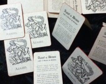 Azazel Prayer Cards