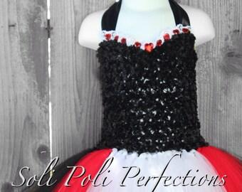 Regal Queen of Hearts Tutu Dress