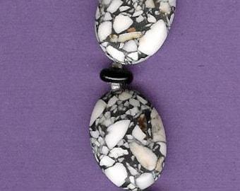 Bracelet - Jasper, Onyx, Freshwater Pearls, Sterling Silver