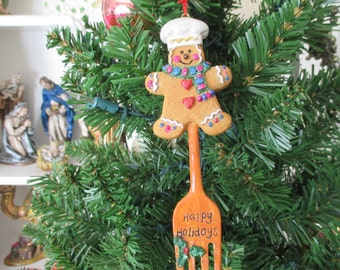 Gingerbread Ornament, Christmas Ornament, Gingerbread Collection, Holiday Decoration, Christmas Gingerbread Kitchen