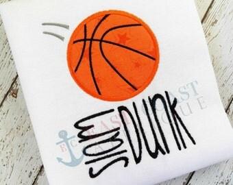 SLAM DUNK machine embroidery design