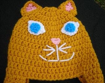 Toddler Golden Cat Hat