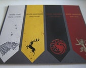 Game of Thrones - Sigils Postcard