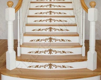 Stair Decals Etsy - Custom vinyl decal application instructionsapplication etsy