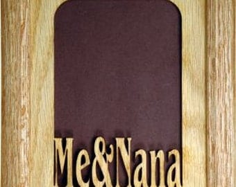 Me and Nana Picture Frame 5x7