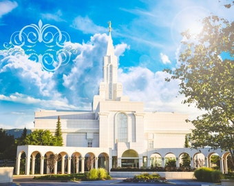 Bountiful, Utah LDS Mormon Temple