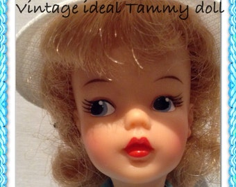 Vintage Ideal Tammy Doll Tee TIme