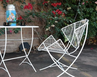 1950s SATELLITE CHAIR vintage retro indoor outdoor : fresh refurb