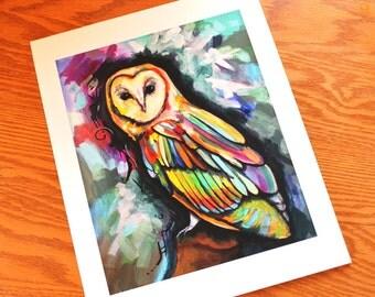 Mystic (Owl) - 11'' x 14''