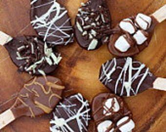 Chocolate Covered Spoons (Showers, Christmas, Valentines day, Birthdays, Weddings, Events etc.)