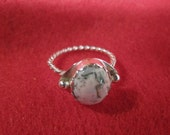 Tree Agate and Sterling Silver - Tom Nugent