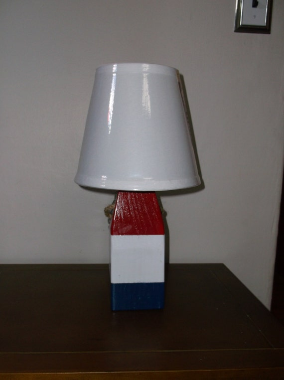 lobster buoy lamps made in usa. Black Bedroom Furniture Sets. Home Design Ideas