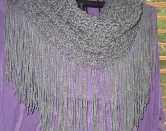 crochet fringe cowl ? Etsy UK