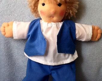 Waldorf inspired boy doll