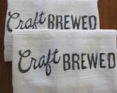 "Kitchen Towels- Craft Brewed set of 2 (16""x29"")"